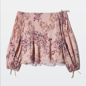 ✨NWT✨Wilfred Talence Blouse in Pink Floral